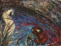 Existenz, Verwirrung, Empathie, Malerei