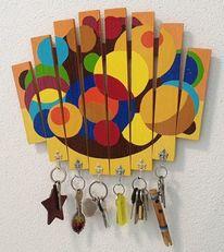 Acrylmalerei, Farben, Möbel, Abstrakt