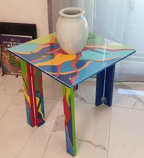 Möbel, Farben, Pflanzen, Abstrakt