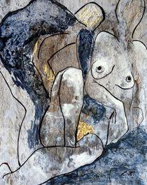 Modern art, Lydia kalasz, Menschen, Malerei