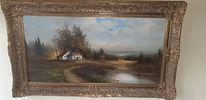 Landschaft, Malerei, Pinnwand