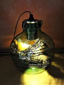 Lampe, Licht, Bär, Ruhe