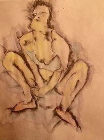 Gouachemalerei, Tanz, Zeichnung, Zeichnungen