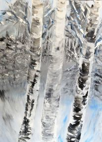 Landschaft, Kunstdeco, Malerei