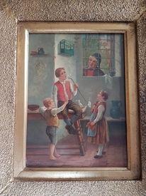 Malerei, Menschen, Kinder, Pinnwand