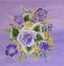 Malerei acrylmalerei, Blumen, Malerei