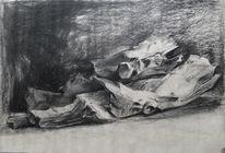 Studie, Zeichnung, Malerei marcel heinze, Holz