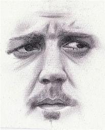 Zeichnung, Gesicht, Malerei marcel heinze, Zeichnungen