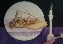 Tod, Ende, Fliege, Kerzen