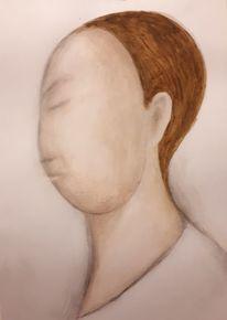 Gesicht, Kopf, Malerei, Portrait