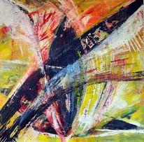 Acrylmalerei, Augen, Malerei,