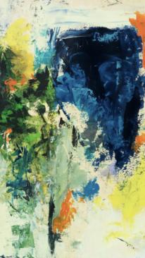 Dichte, Blau, Zerlaufen, Malerei