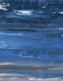 Intuition, Ausdrucksmalerei, Malerei, Blau