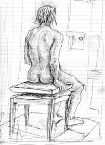 Menschen, Expressionismus, Figur, Zeichnungen
