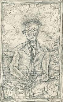 Expressionismus, Menschen, Figur, Zeichnungen
