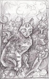 Expressionismus, Surreal, Abstrakt, Zeichnungen