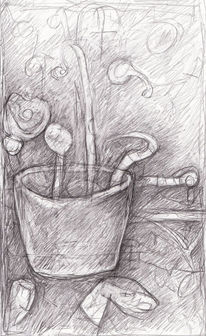 Surreal, Expressionismus, Abstrakt, Zeichnungen