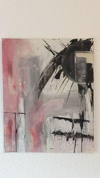 Acrylmalerei, Malerei, Mischtechnik, Modern art