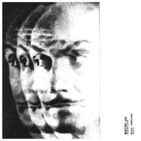 Portrait, Schwarz, Figur, Weiß