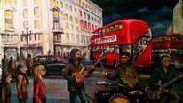 Musik, Nacht, London, Malerei