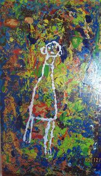 Acrylmalerei, Experimentell, Abstrakt, Mischtechnik