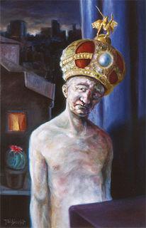 Figural, Malerei, König