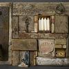 Collage, Treibholz, Assemblage, Plastik