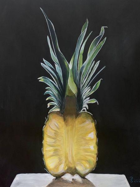 Malerei, Saftig, Acrylmalerei, Gesund, Obst, Pflanzen