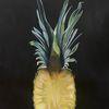 Früchte, Ananas, Saftig, Malerei