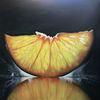 Saftig, Früchte, Orange, Rund kreis