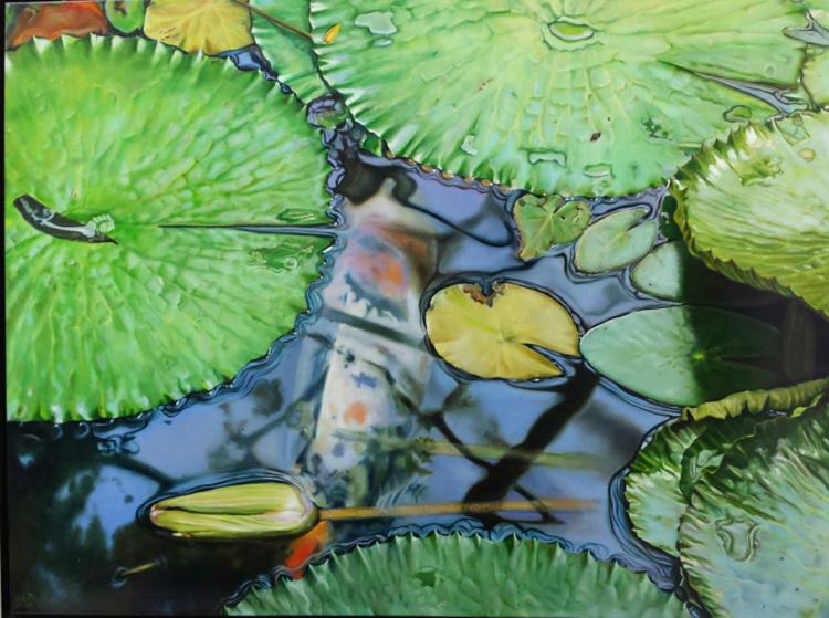 Realismus, Umwelt, Wasser, Fisch, Natur, Malerei