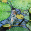 Malerei, Fotorealismus, Natur, See