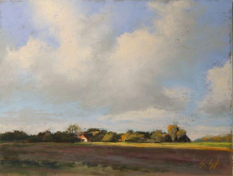 Deich, Küste, Friesland, Wolken, Sommer, Himmel