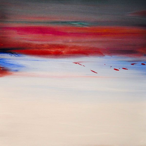 Blau, Surreal, Abstrakt, Weiß, Gegenwartskunst, Atmosphäre
