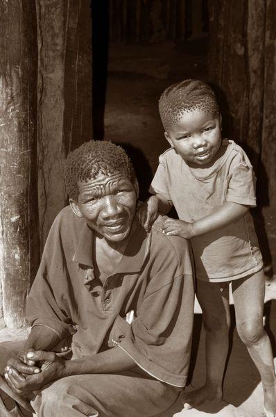 Afrika, Namibia, Familie, Ruhig, Wärme, Vater