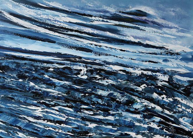 Abstrakt, Elemente, Malerei, Gemälde