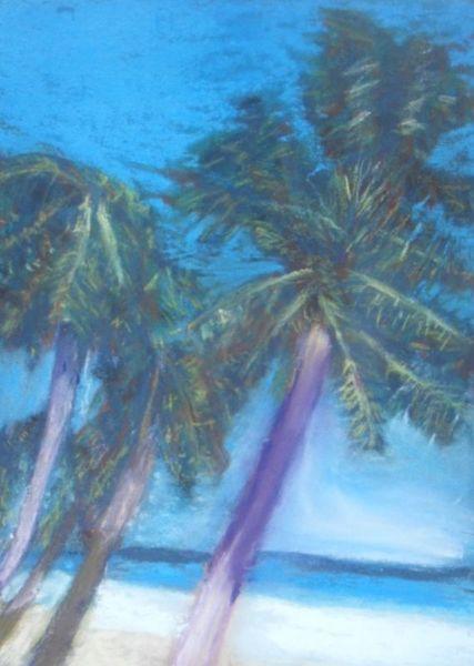 Tropen, Wasser, Strand, Meer, Blau, Himmel