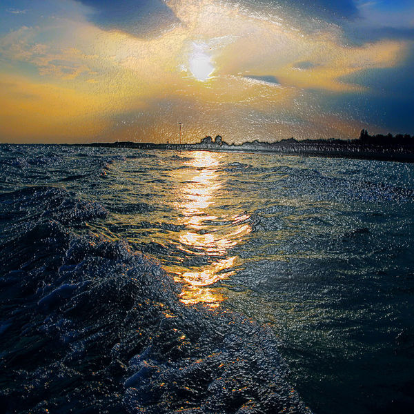 Welle, Italien, Licht, Wasser, Himmel, Wärme