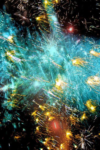 Explosion, Mitternacht, Laut, Rakete, Wasser, Sprudel