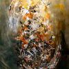 Spachtel, Acrylmalerei, Farben, Pinsel