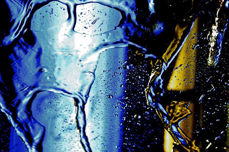 Licht, Kalt, Windschutzscheibe, Nass, Glas, Wasser