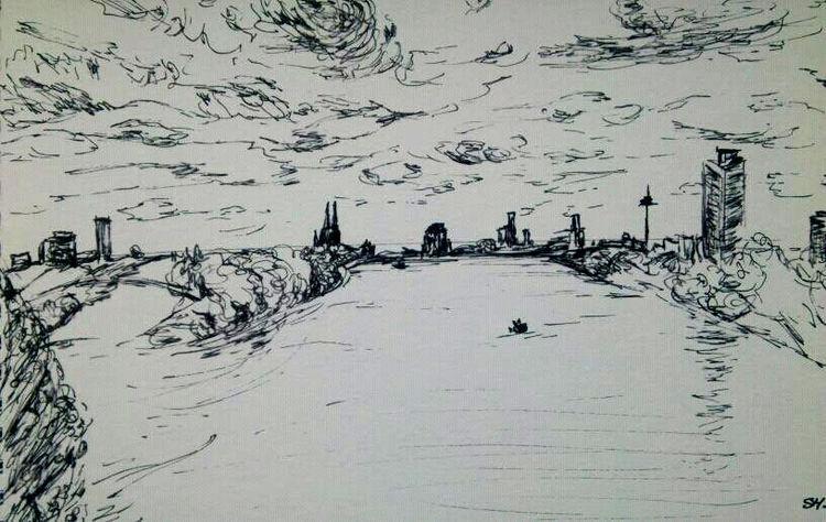 Wolken, Dom, Köln, Turm, Energie, Fluss