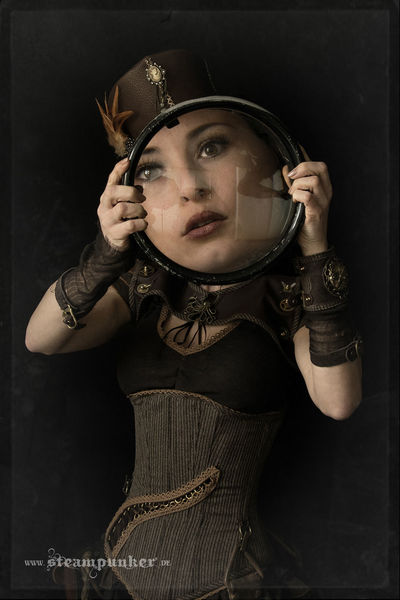 Steampunk, Skurril, Mode, Kleidung, Surreal, Linse