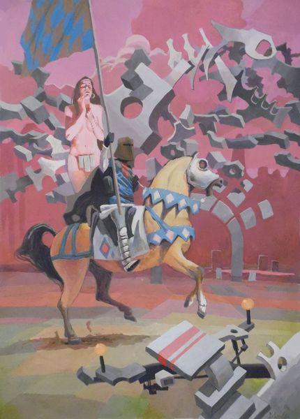 Mauer, 艺术品, Kunst aus nrw, Malerei,
