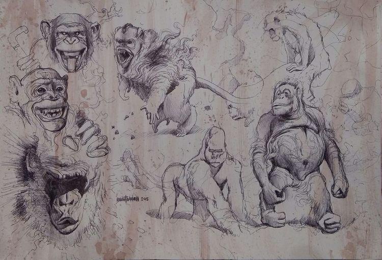 Malen, Mauer, Zeichnung, Zeichnungen,