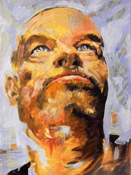 Ausdruck, Malerei, Gemälde, Ölmalerei, Portrait,