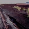 Schatten, Gleis, Moor, Bahnsteig