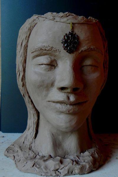Edelstein, Doppelkopf, Jung, Augen, Traum, Plastik