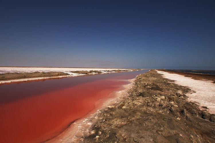 Salzgewinnung, Namibia, Walvis bay, Fotografie