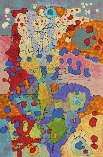 Expressionismus, Panel, Abstrakt, Malerei